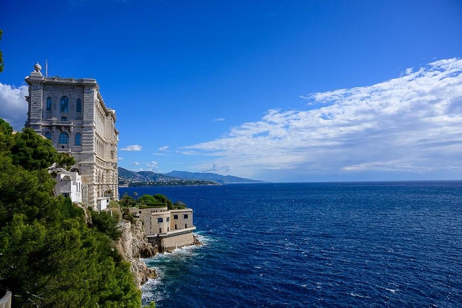 visoka stavba nad morjem
