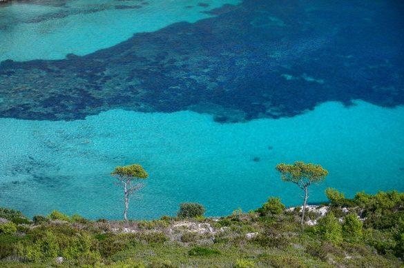 turkizno morje južne Francije