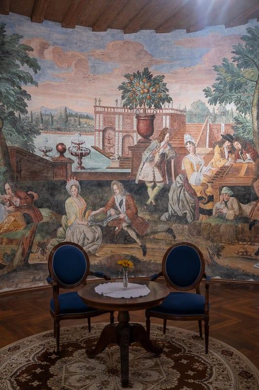 freska iz gradu Sevnica