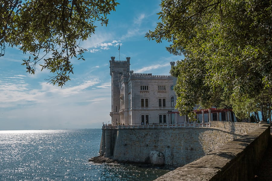 grad Miramar nad morjem