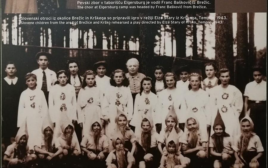 skupina otrok v času 2 svetovne vojne v Nemčiji