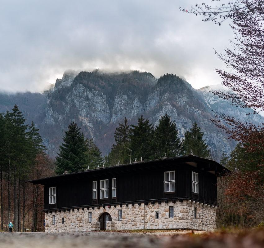 plečnikova arhitektura v Kamniški Bistrici