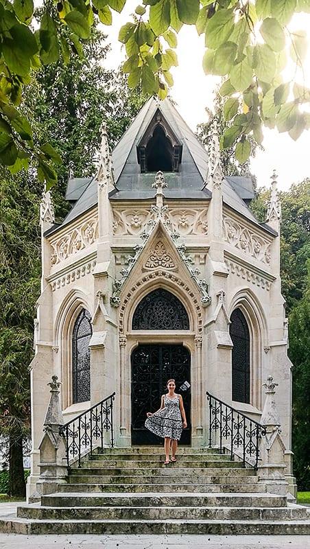 Hočevarjev mavzolej v Krškem, neogotična kapelica