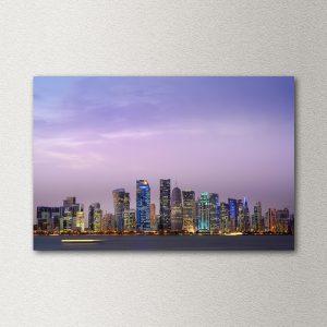 stenska slika city skyline