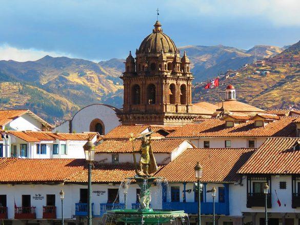 katedrala v mestu Cusco