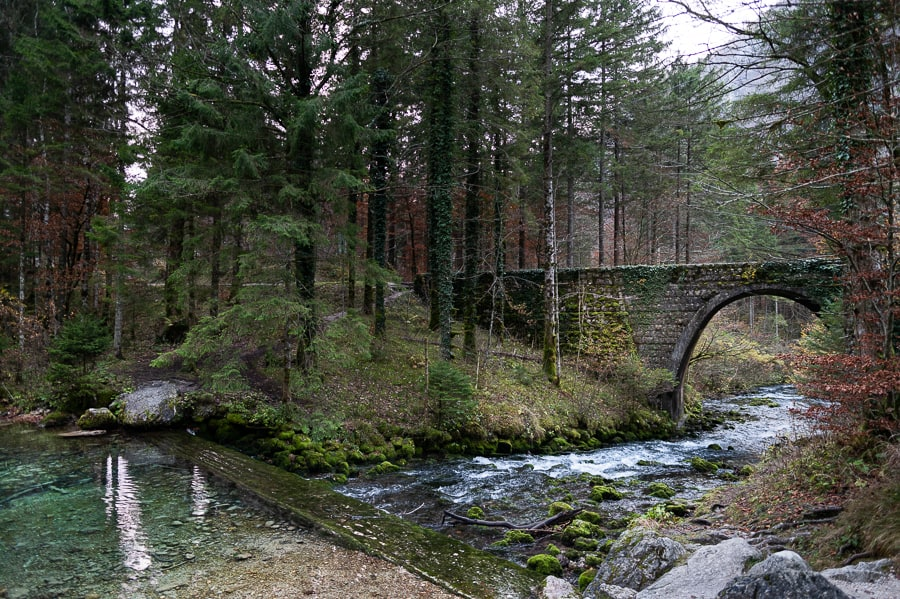 kamniti most v kamniški bistrici