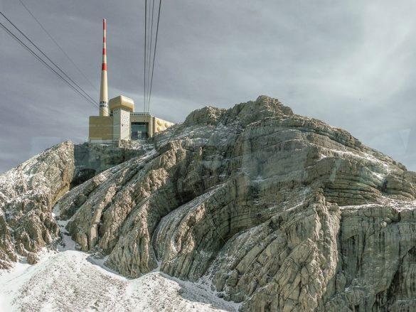 zgornja postaja gondole Säntis
