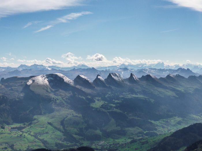 gorski greben v Alpah