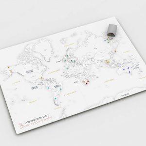 zemljevid sveta - bucike