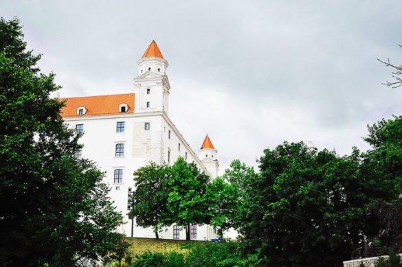 stolp na bratislavskem gradu