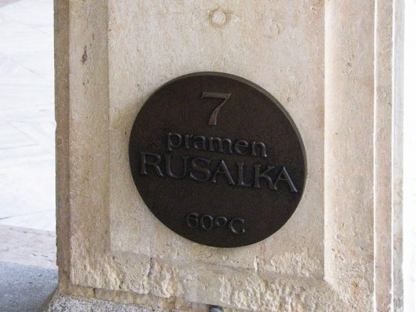 pramen rusalka, Karlovy Vary