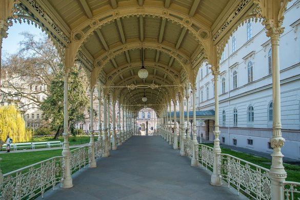 Park colonnade Karlovy Vary