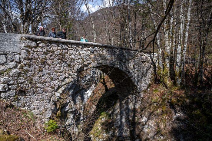 kamniti most, Hudičev most v Bohinju
