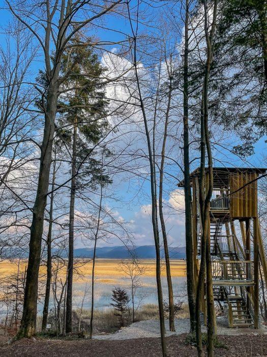 Opazovalnica nad Cerkniškem jezerom