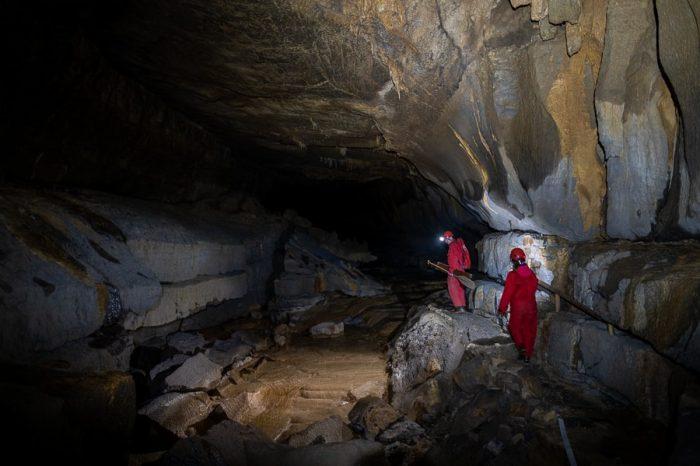jamarji hodijo v jami, križna jama