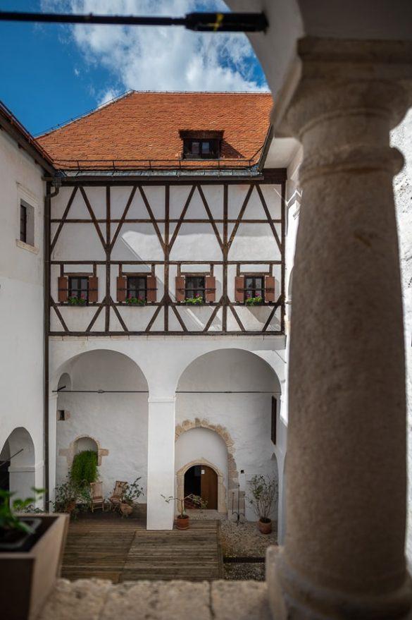 notranji balkoni, grad podsreda