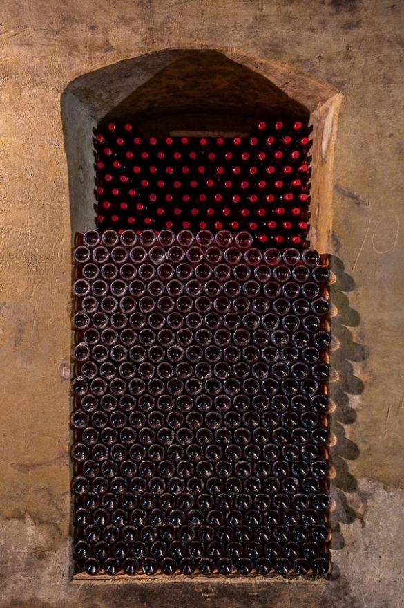 niša za hrambo vina