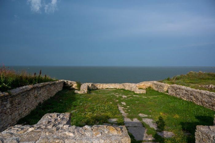 rimske izkopanine na rtu Dolosman, Črno morje, Delta Donave