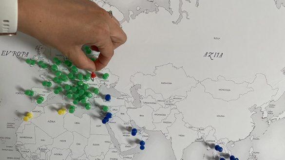 žebljički v zemljevidu sveta