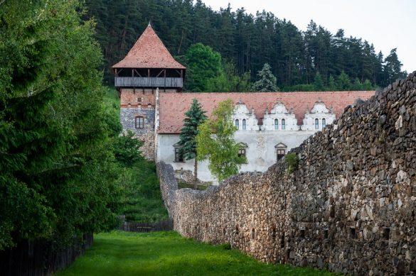 Grad v mestu Gheorgheni