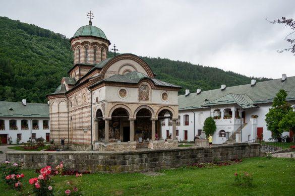 Samostan Cozia top znamenitosti Romunija