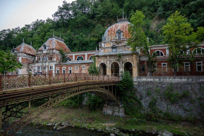 zapuščene toplice v Romuniji