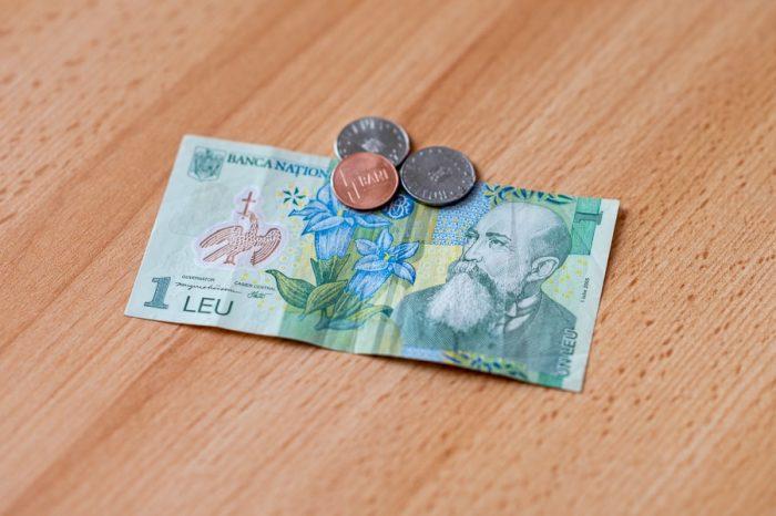 romunski denar, romunski lev