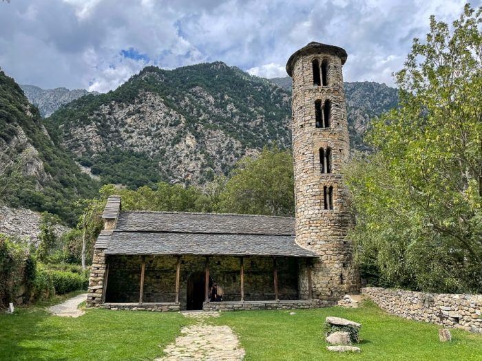 Cerkev Santa Coloma, Andora