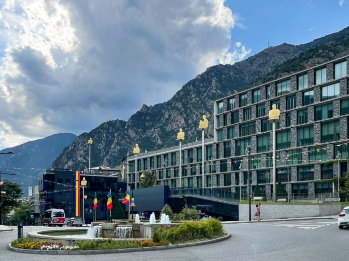centralni park v Andorra la Vella