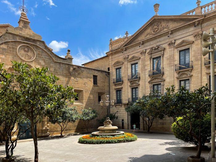 trg v katalonskem mestu Solsona