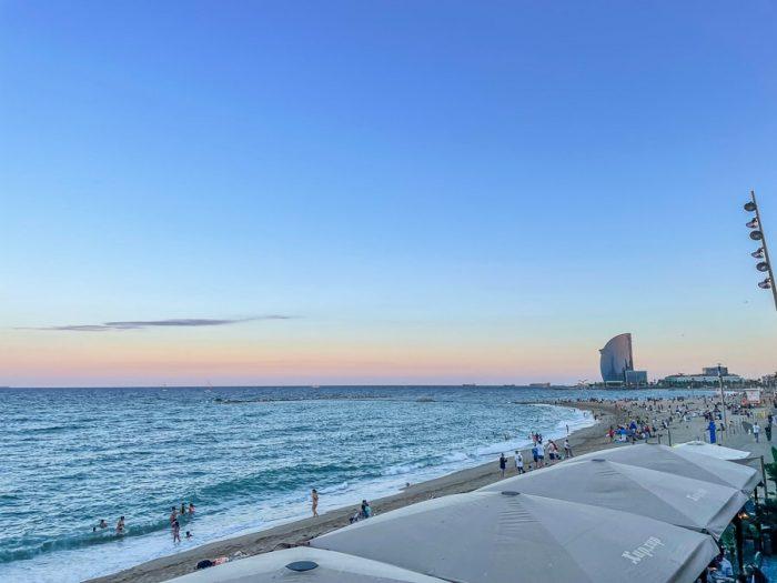 Baracelonetta - top plaža v Barceloni