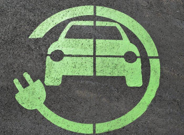 znak za električni avto