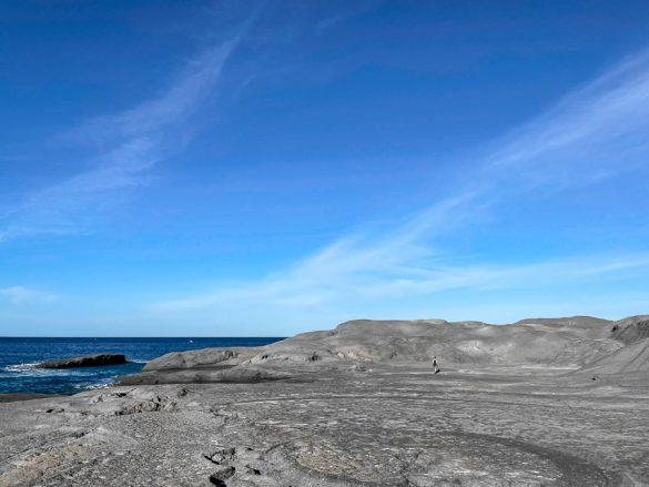 plaža Cane Malu na zahodu Sardinije