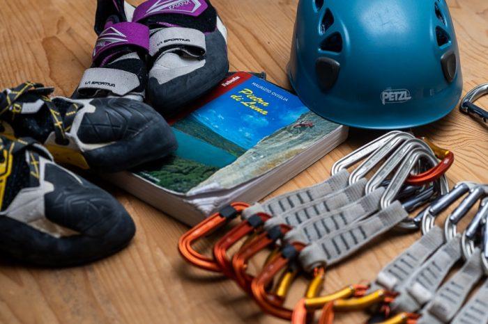 plezalna oprema: plezalni vodnik po Sardiniji, plezalke, kompleti, čelada ...