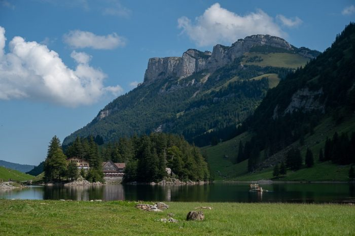 Jezero Seealpsee v Švici