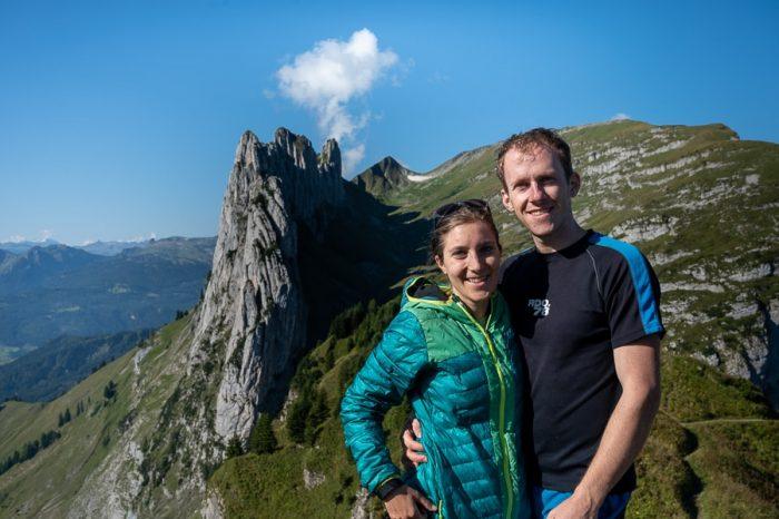 moški in ženska na Saxer Lücke