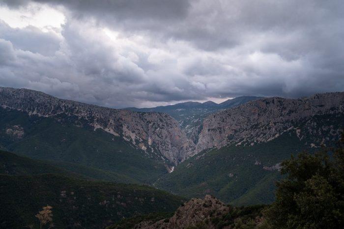 Top znamenitosti Sardinije: kanjon Gola di Gorrupu, Sardinija