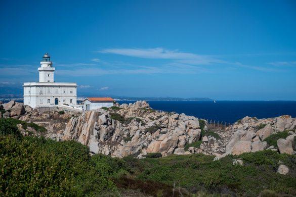 Svetilnik na rtu Capo Testa, skrajni sever Sardinije