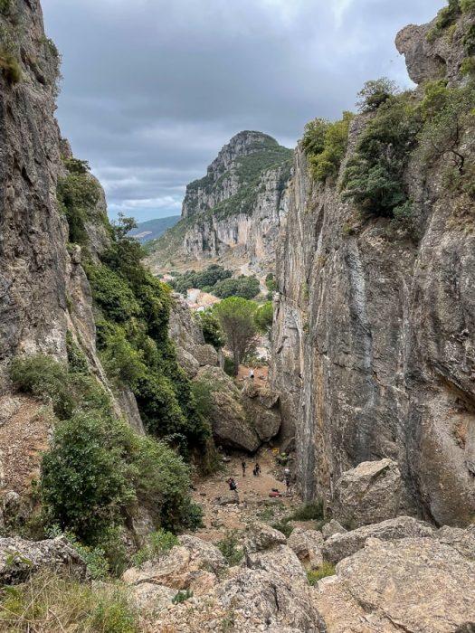 kanjon Ulassai, Sardinija