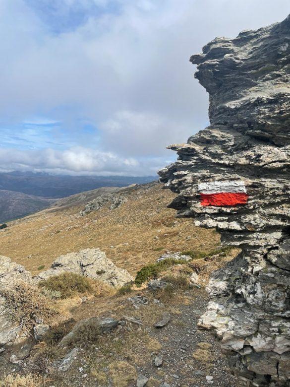Markacija! Proti Punta la Marmora, najvišji gori Sardinijie