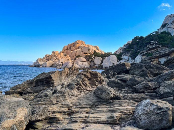 Capo Testa, najbolj severni rt Sardinije